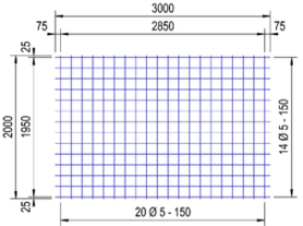 PS130V : 5*15*15 thermisch verzinkt