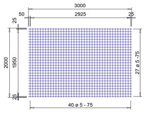 PS262A : 5*7,5*7,5 (2x3 meter)