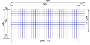 BEC257A : 7*15*15 (5.96x2.36 meter)