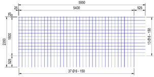 BEC188A : 6*15*15 (5.95x2.35 meter)