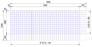 B524A : 10*15*15 (5.95x2.35 meter)