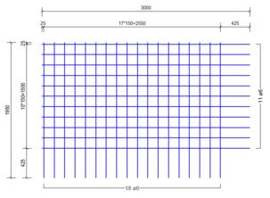 BSA188A : 6*15*15 (3.00x1.95 meter)