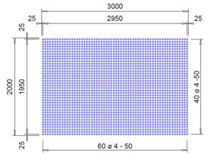 PS252V 4*50*50 mm. thermisch verzinkt