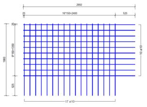 BSA524A : 10*15*15 (2.95x1.90 meter)
