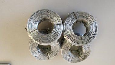 Binddraad 1.2 mm. voor rolo verzinkt