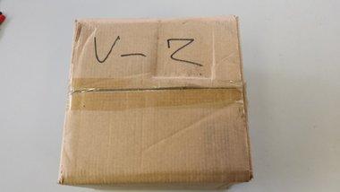 Doosje binddraad 1.2 mm. voor rolo verzinkt
