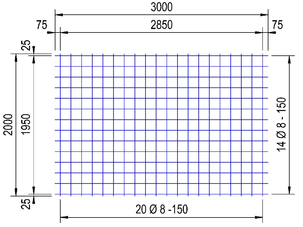 PS335V : 8*15*15 thermisch verzinkt