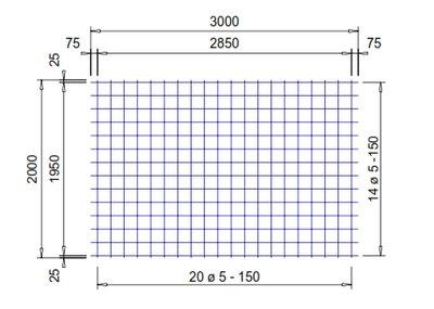 PS130A : 5*15*15 (2x3 meter)