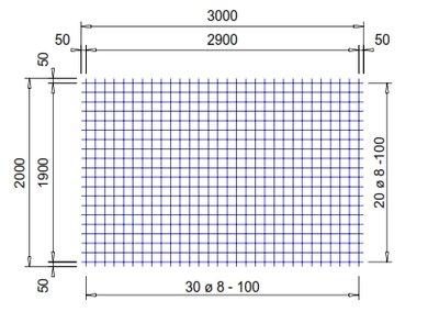 PS503V : 8*10*10 thermisch verzinkt